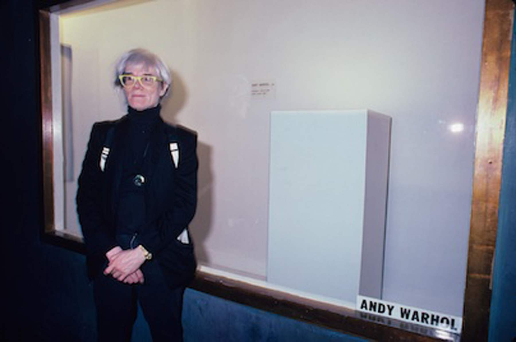 Andy Warhol Installation at the Area Club, NY 1985