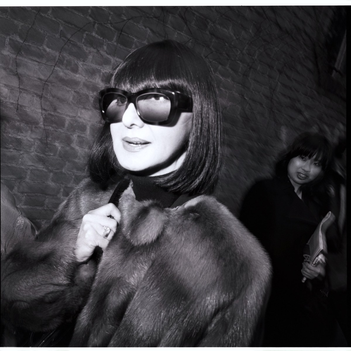 Visitor of a Fashion Show, Milan 1998