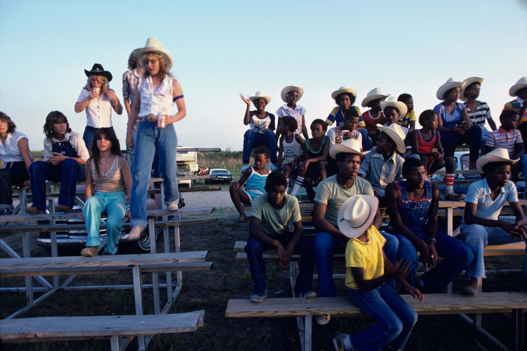 Blacks and Whites at a Rodeo, 1980
