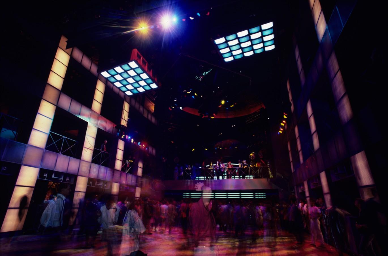 Dancefloor at the Palladium, NY 1985