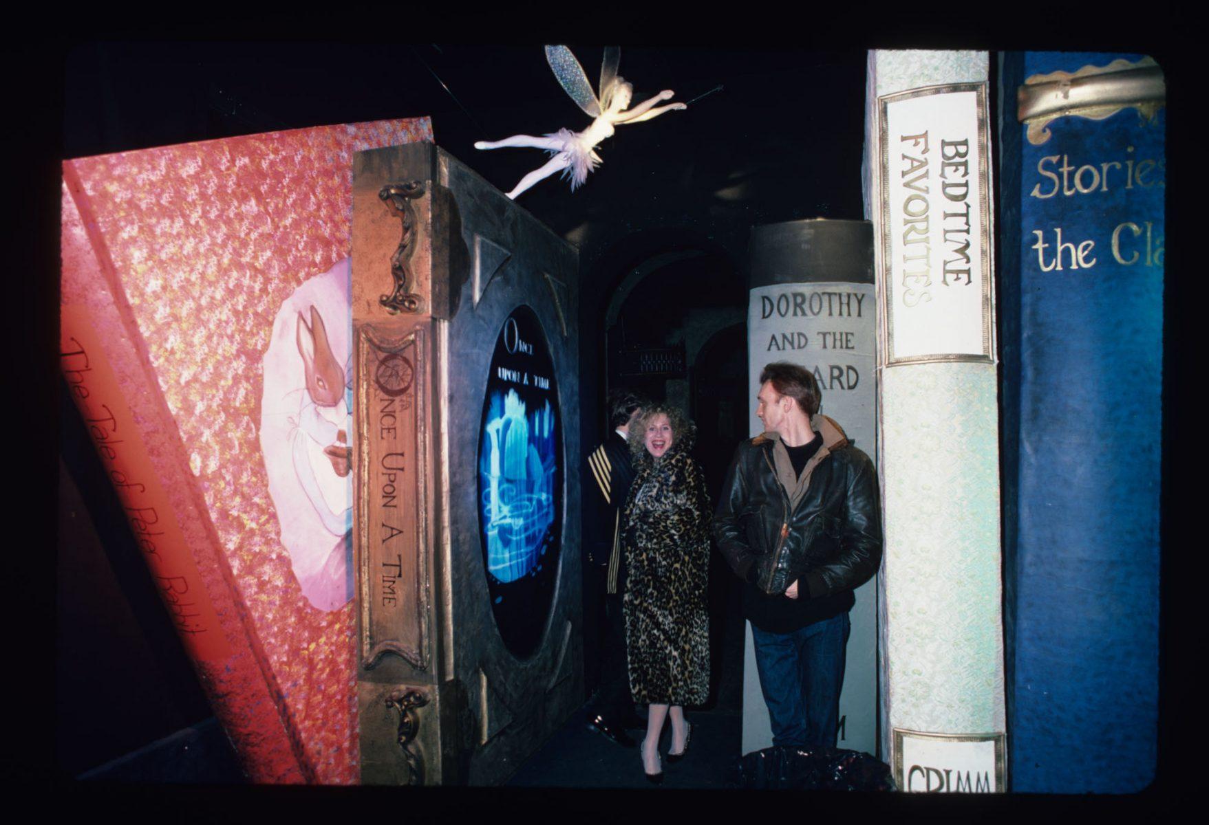 Fairy Tale Installation at the Area Club, NY 1985