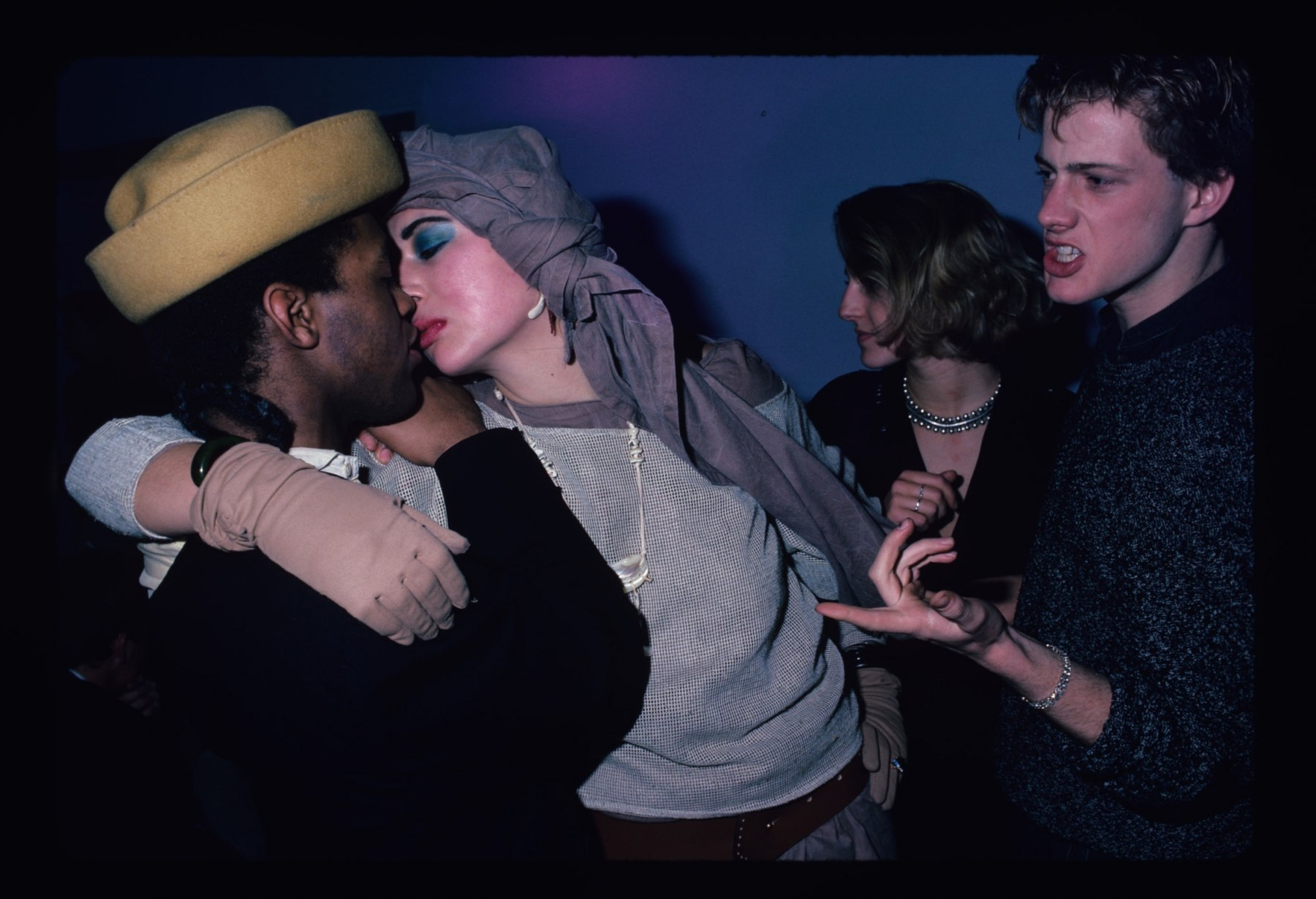 Guests at the Area Club, NY 1984