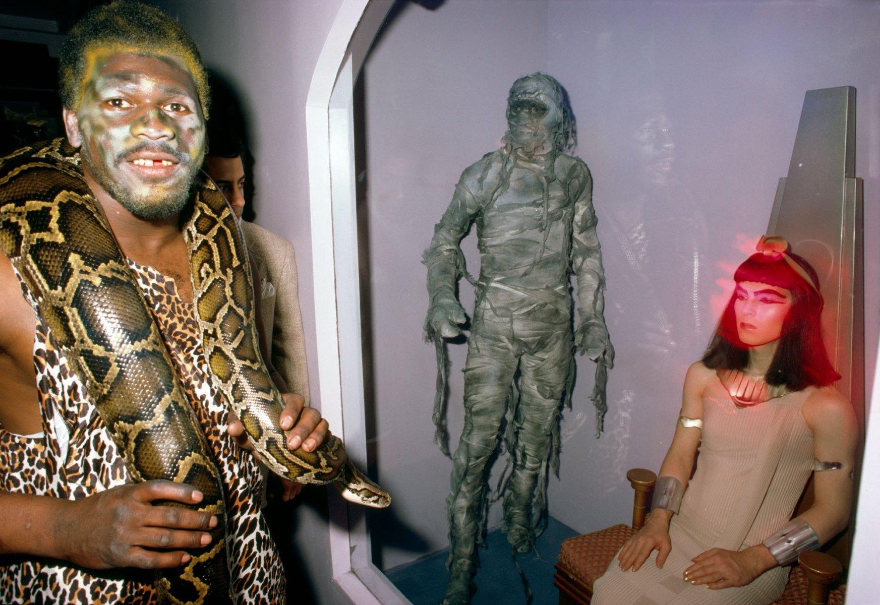 Halloween at the Area Club, NY 1984