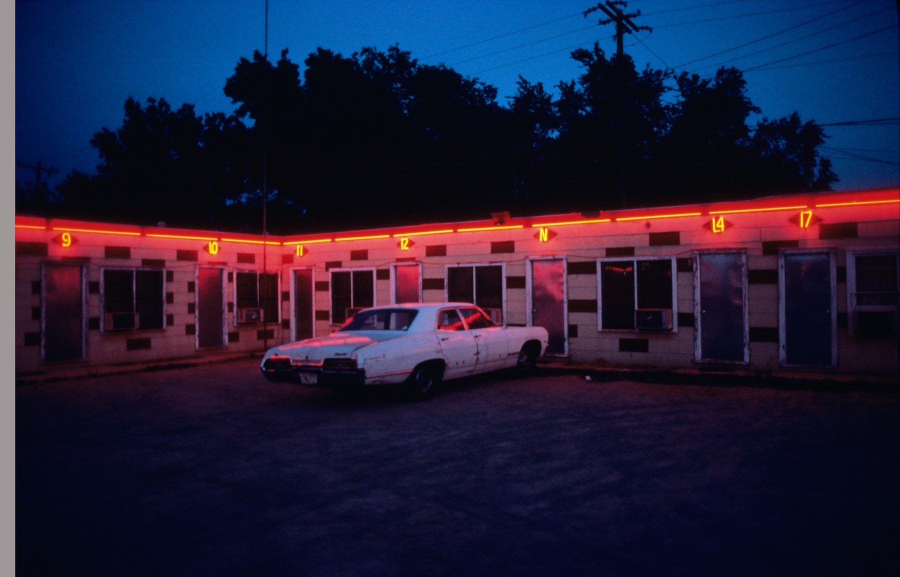 Motel at Route 66, 1980
