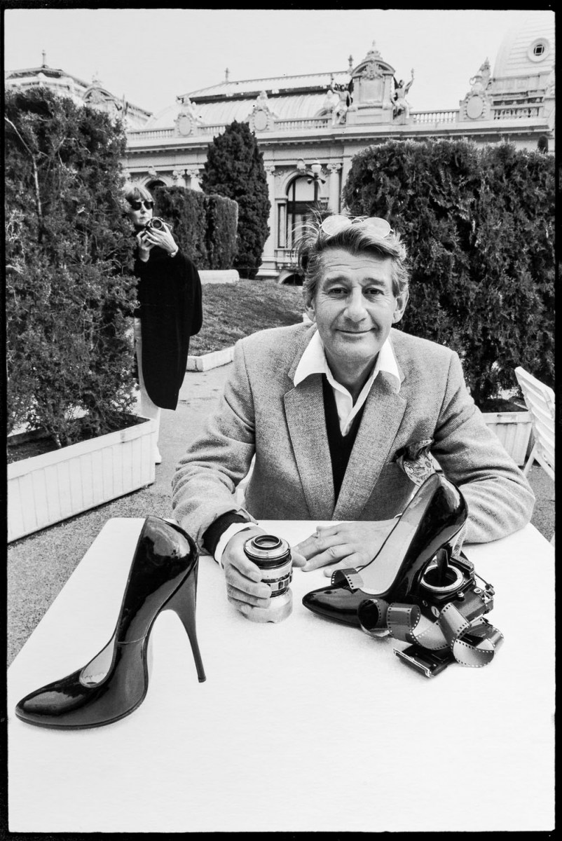 Helmut Newton With His Wife June, Monte Carlo 1983