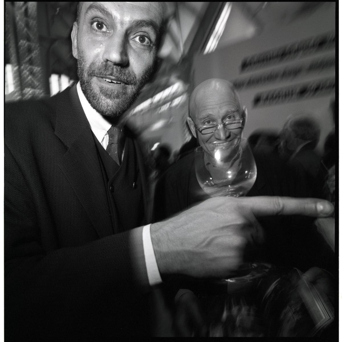 Peter Matthias Gaede and Sebastiao Salgado, Hamburg 1996