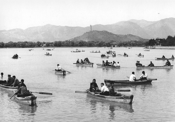 Lake of the Summer Palace near Beijing, 1973