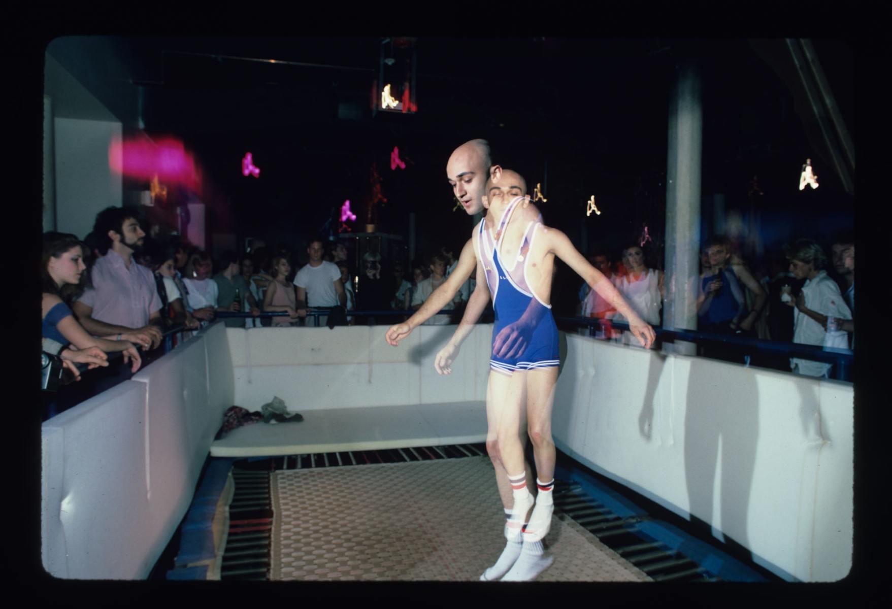 Sports Installation at the Area Club, NY 1984