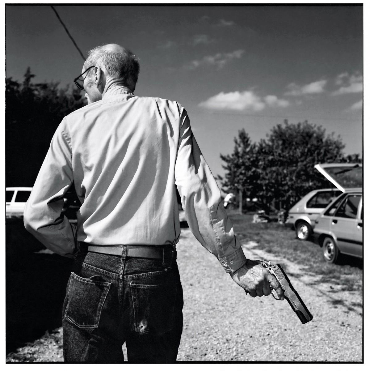 William Burroughs, Lawrence/Kansas 1987
