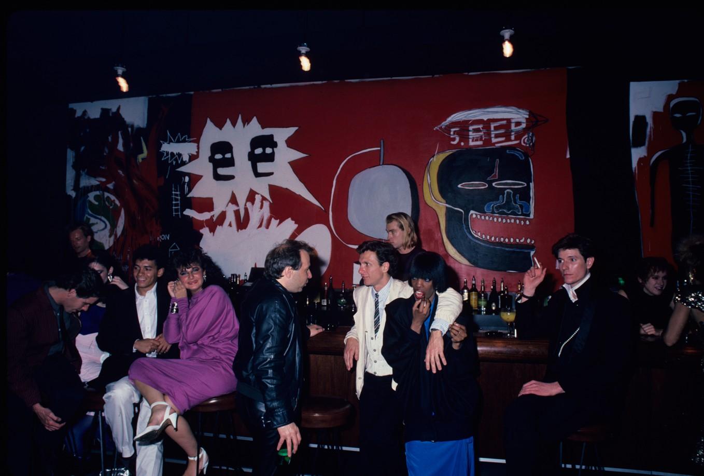 Bar at the Palladium, NY 1985