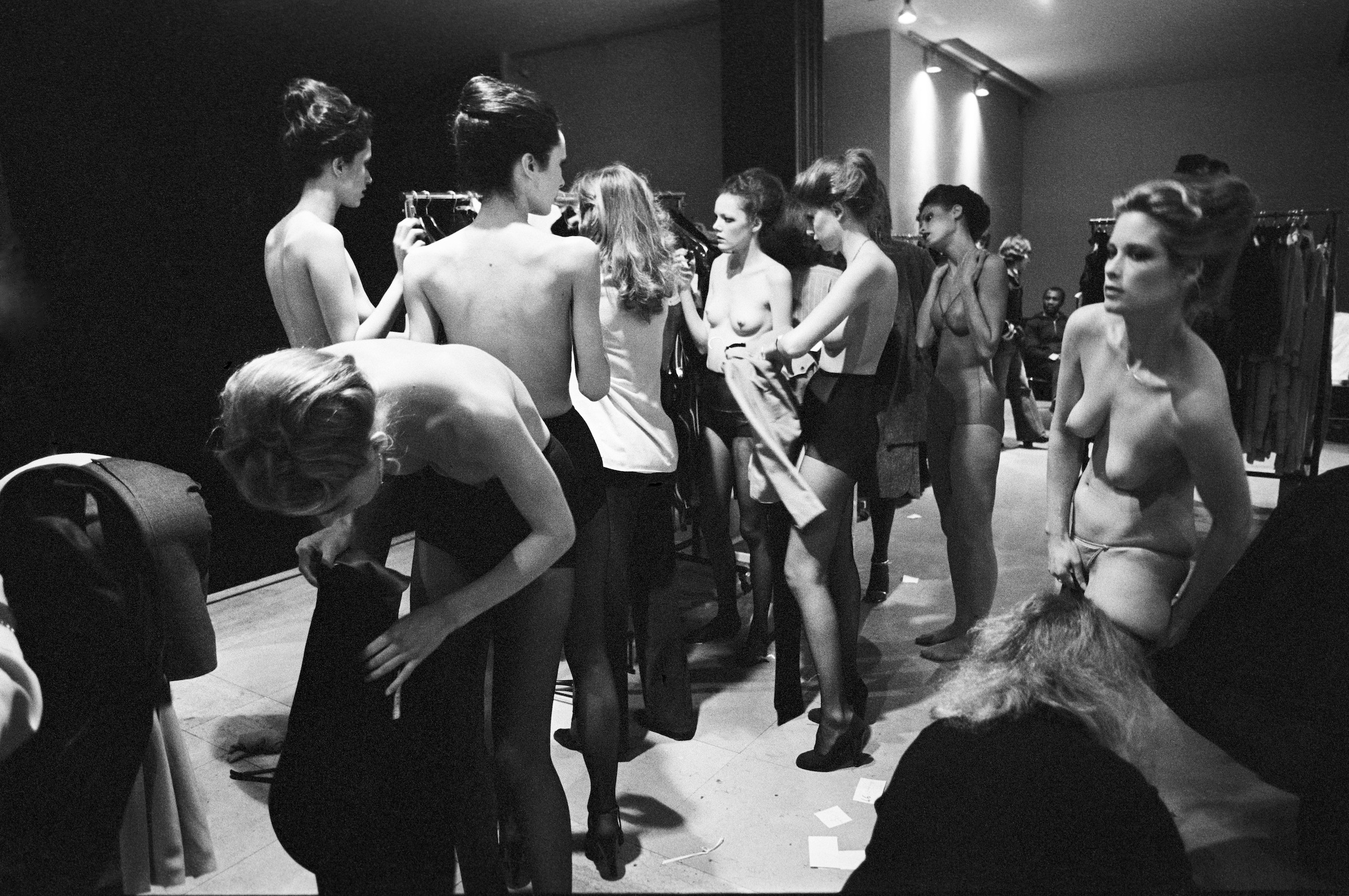 In the Dressingroom, Paris 1978