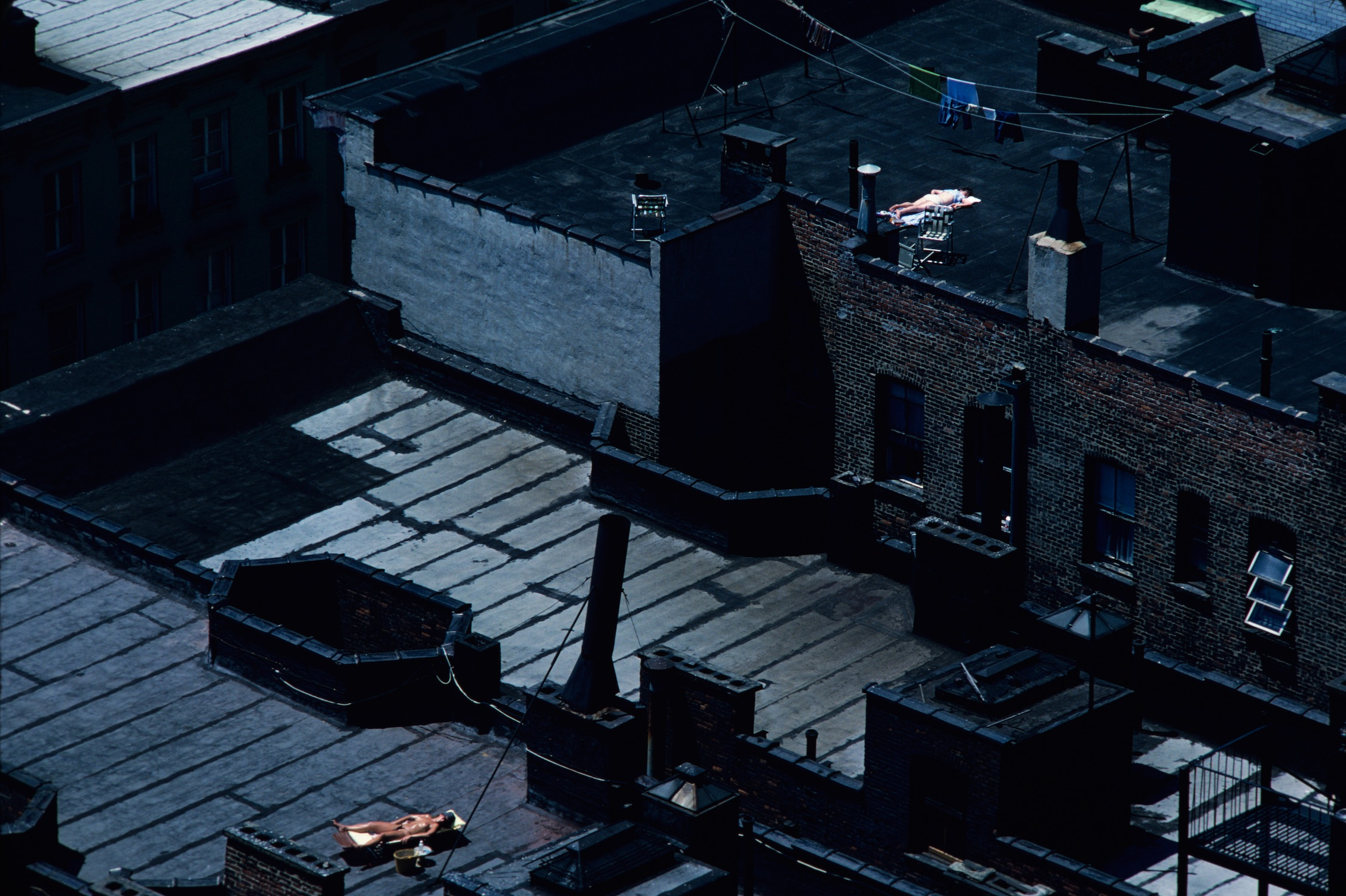 New York City Roof Top, 1984